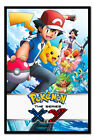 Framed Pokemon X & Y The Series Childrens Poster New