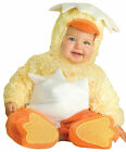 INFANT TODDLER LIL CHICKIE BABY ANIMAL COSTUME Yellow Safari Halloween Party