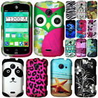 For ZTE Prelude 2 Z667/ Whirl 2/ Zinger T-Mobile Skull HARD Case Cover Accessory