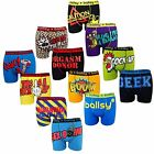 6 & 12 Packs Men's Designer Novelty Rude Ballsy Boxers Trunks Funny Underwears