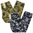 Levis Cargo Pants Mens Relaxed Fit Camouflage 6 Pocket Army Green Gray Camo