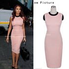 Plus size 2015 new Vintage Women Wiggle Pencil Bodycon Summer Casual Dress B38