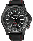 Citizen Eco-Drive GMT Japan Pilots Mens Watch BJ7076-00E