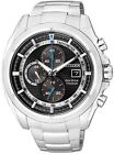 Citizen Eco-Drive Chronograph Super Titanium Sapphire Japan Watch CA0551-50E