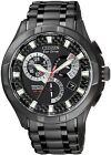 Citizen Eco-Drive Perpetual Calendar Black IP 100m Gents Watch BL8097-52E