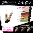 L.A. Girl Pro Concealer HD High Definition Liquid Concealer 1,2,3,4,5,6,10,12,18