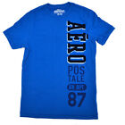 Aeropostale Mens Tshirt Tee Aero Flocked Letters New Dept Graphic Xs Blue V221