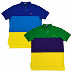 Polo Ralph Lauren Shirt Mens Polos Classic Fit Mesh Pony Color Block Nwt V571