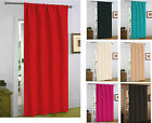 Embossed New Thermal Door Curtain Thick Panel Energy Heat Saving Draught Draft
