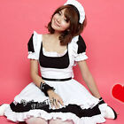 Size S/M/L/XL Lady Party Maid Outfit Style Black Mixed White Cosplay Costume