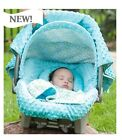 WHOLE CABOODLE by CarSeat Canopy 5pc Set for Infant Car Seat ~Cover Blanket NEW!