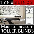 Louvolite CHATSWORTH ROLLER BLINDS - straight edge - made to your exact size.