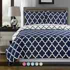 Meridian Contemporary Print Duvet Cover Set 100% Egyptian cotton 300 Threadcount