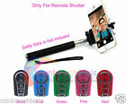 Wireless Bluetooth Remote Camera Shooting Shutter for iPhone 6 Samsung Note 3 4