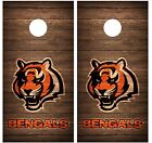 Cincinnati Bengals Vintage Wood Cornhole Board Decal Wrap Wraps (brown) on eBay
