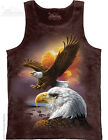 Eagle & Clouds Unisex Adult Tank Top The Mountain