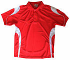 MENS LAWN BOWLS RED COLOURED POLO SHIRTS TOPS BRAND NEW CHEAP BOWLS WEAR