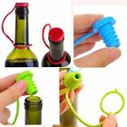 Home Portable Silicone Seasoning Beer Bottle Sealing Plug Red Wine Stopper New S