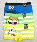 NEW Sesame Street Panty 3-Pack Set for Juniors Big Bird Cookie Monster Oscar