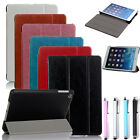 Ultra-Thin Slim Glossy Smart Hard Case Cover For Apple iPad Mini 2 retina&Pen
