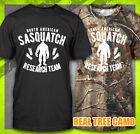 SASQUATCH RESEARCH TEAM FUNNY FINDING BIG FOOT SQUATCHING  BIGFOOT T-SHIRT TEE