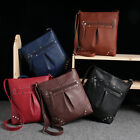 New Womens Handbag Leather Satchel Cross Body Shoulder Messenger Bag Ornate