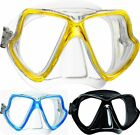 Mares WAHOO Twin Lens Scuba Diving Snorkelling MASK - Silicone Skirt - Mask Box