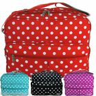 Cabin Bag Hand Luggage Polka Dot Gym Bag Travel Bag Holdall Bag 42cm Ryanair ++