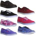 10530 Genuine Vans Plimsolls Mono Authentic Lo Pro Womens Canvas Trainers