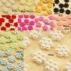 Pearlised Flower Scrapbooking Embellishment