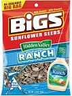 5.35oz BIGS Seeds Sunflower Seeds -Ranch, Dill Pickle, Taco Bell, Bacon, Old Bay
