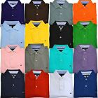 Tommy Hilfiger Mens Polo Shirt Knit Mesh Classic Fit Short Sleeve Collared New