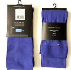 TOMMY HILFIGER Designer 60 Den Opaque 3D Tights Spectrum Blue & Sparkling Grape