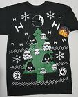 NWT Official Star Wars T Shirt Mens Black SS Christmas S M L  Clone Troopers NEW $4.79 USD on eBay