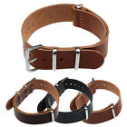 Fashion Concise PU Leather 20/22cm Wrist Watch Band Strap Pin Buckle L8JY