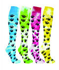 NEW RED LION TIE DYED PAWS KNEE HIGH  SOCKS SOCCER BASKETBALL VOLLEYBALL