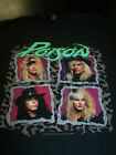 POISON FLESH AND BLOOD TOUR T-SHIRT NEW !