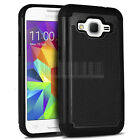 Shockproof Hard Hybrid Case Cover For Samsung Galaxy Core Prime Prevail LTE G360