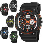 New Sport Waterproof Mens Alike LED Digital Date Rubber Wrist Watch Men Boy Gift