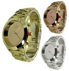 AN London Mirror Dial Face & Metal Band Ladies Quartz Analogue Wrist Watches