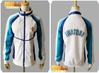 Haruka Nanase from Free! - Iwatobi Swim Club Cosplay sport Jacket white