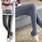 2015 Fashion Women's Autumn Thickened Camel Wool Slim Pedal Pants Footless Socks