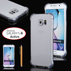 Soft TPU Transparent Protective Case Slim Cover Skin For Samsung Galaxy S6  New