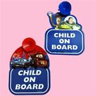 Baby on Board Car Signs Disney Princess Hello Kitty Toy Story Winnie Pooh Tigger