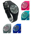 Ravel Ultra-Clear Ladies Summer Watch Silicone Strap Choice of Colours