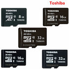New Toshiba 8GB/16GB/32GB MicroSD SDHC UHS-1 U1 TF Flash Memory Card C10 f.phone