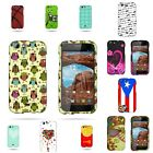 For BLU Life One - Hard Plastic Shell Snap On Protective Stylish Design Case