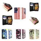 For Kyocera Hydro Icon / Life Design Wallet Case with Screen Protector + Strap