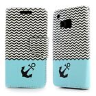 For HTC One M9 Design Case - Flip Folio Wallet Pouch Cover + Screen Protector
