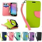 For LG Leon Tribute 2 Risio Wallet Case Protective Folio Pouch Cover + Screen